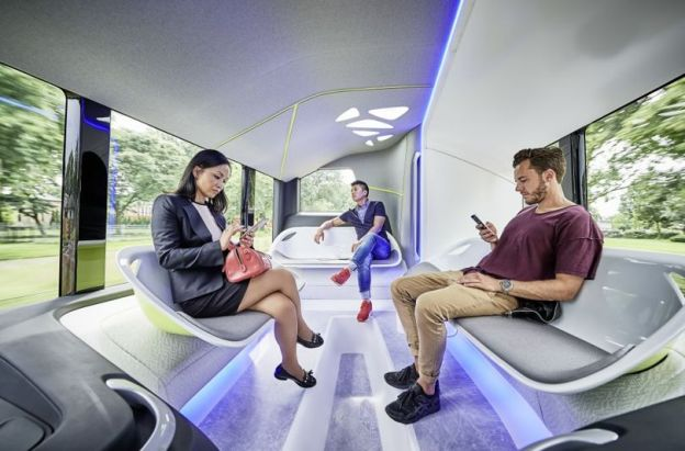 Mercedes lead the way on imagining the future role of bus within a MaaS landscape